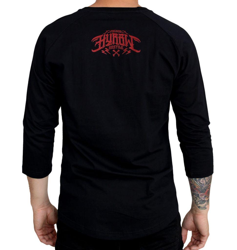 2c3d8a3204ec Tričko pánske s dlhým rukávom Hyraw Hardcore Monkey - čierne - Hyraw ...
