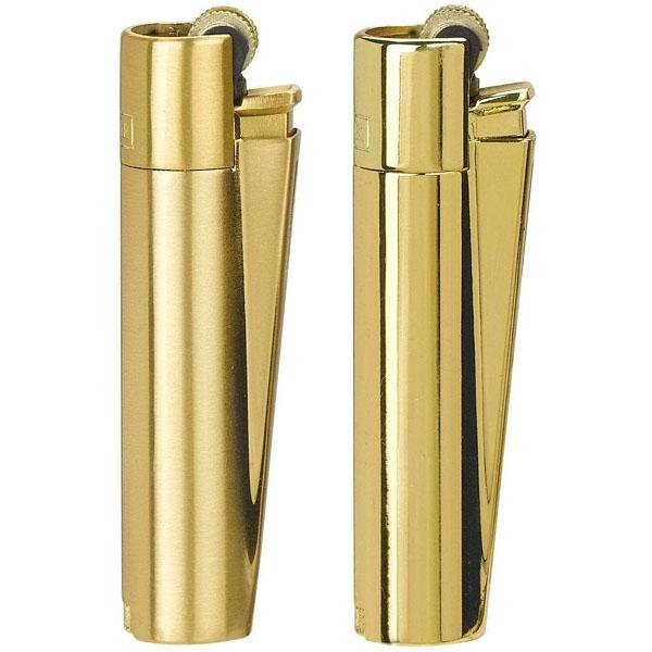 Zapalovač Clipper CMP11R - zlatý