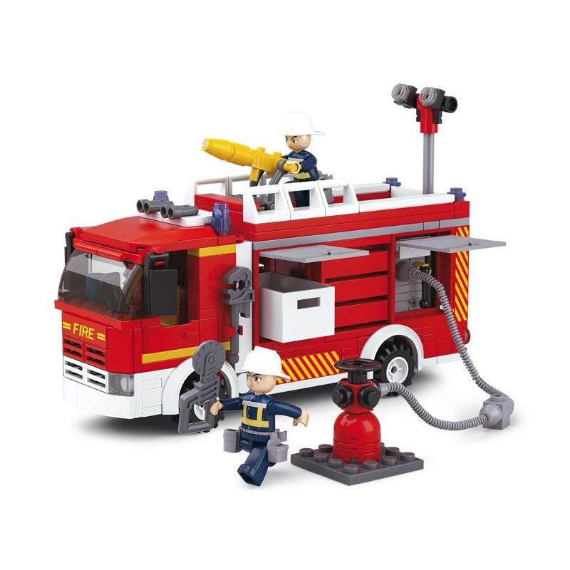 Stavebnice Sluban Fire Požární vůz s čerpadlem M38-B0626