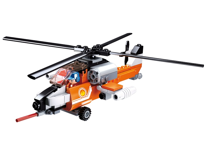 Stavebnice Sluban Aviation Požární vrtulník M38-B0667D