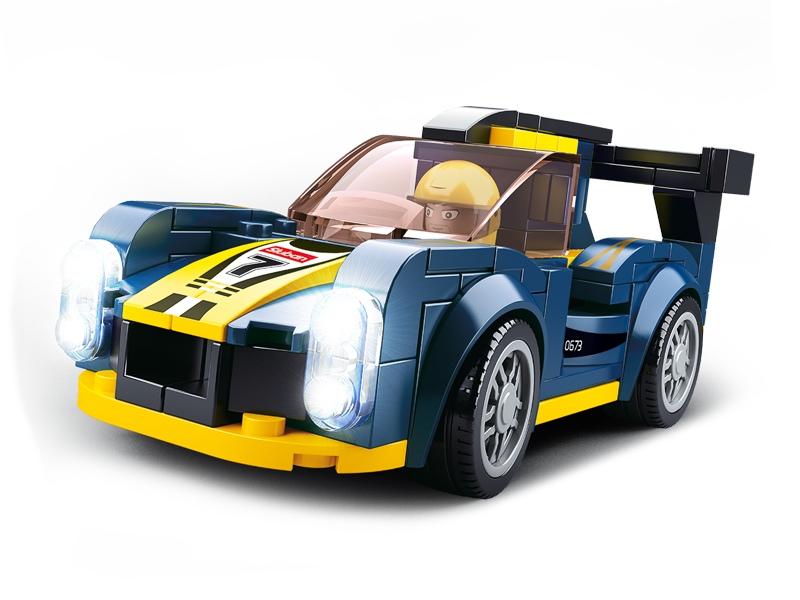 Stavebnice Sluban Car Club Le Mans M38-B0673