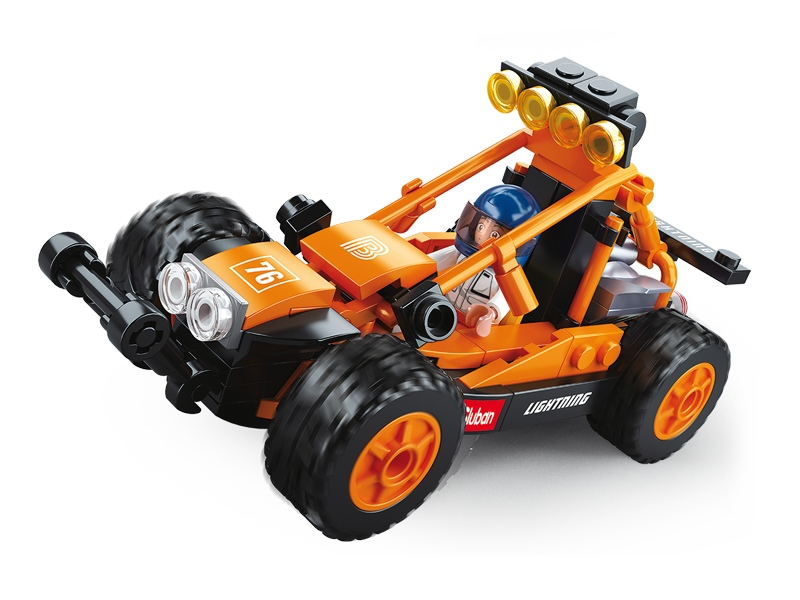 Stavebnice Sluban Car Club Písečná buggy M38-B0676