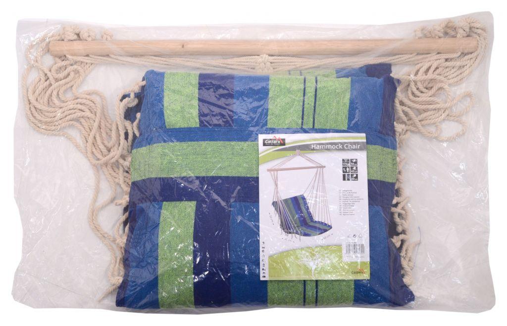 Houpací Křeslo Cattara Textil 95x50 Modré