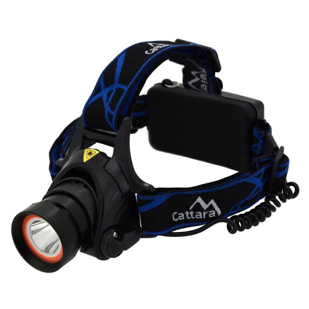 Čelovka Cattara LED 400lm (1x XM-L+15x SMD)