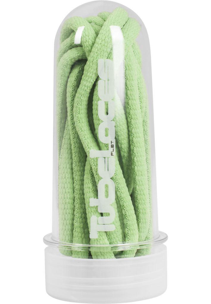 Tkaničky do bot Tubelaces Rope Pad 130 cm - světle zelené