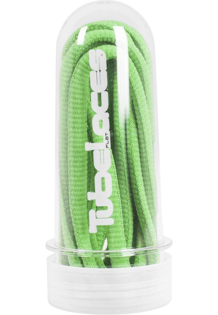 Tkaničky do bot Tubelaces Rope Pad 130 cm - zelené