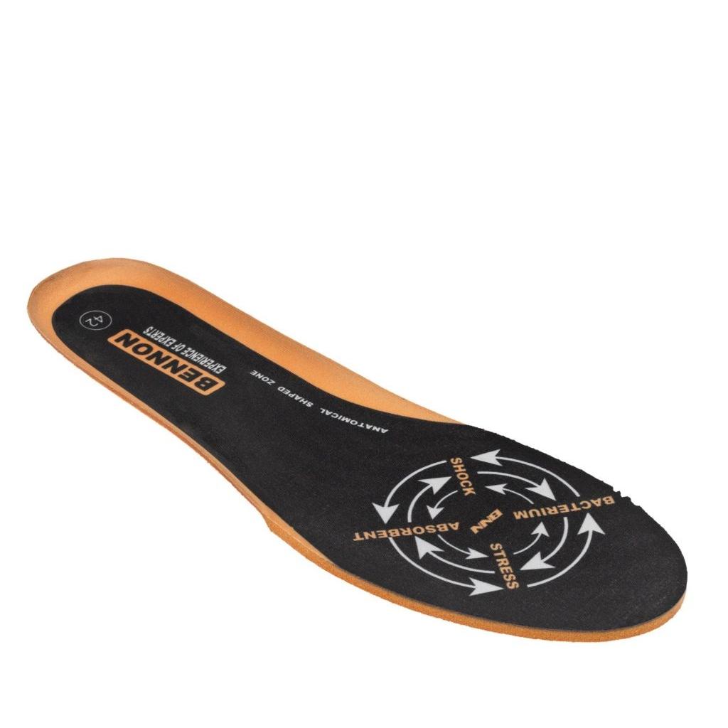 Stélky/vložky do bot Bennon Plus - černé-oranžové