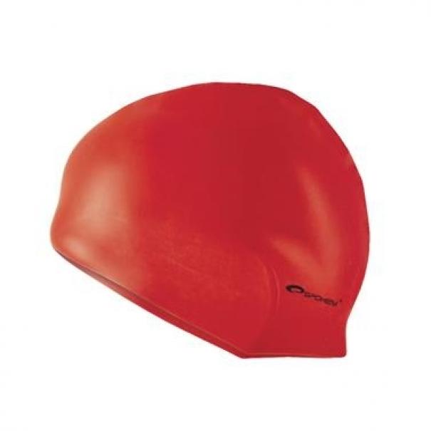 Plavecká čepice silikonová Spokey Summer - červená