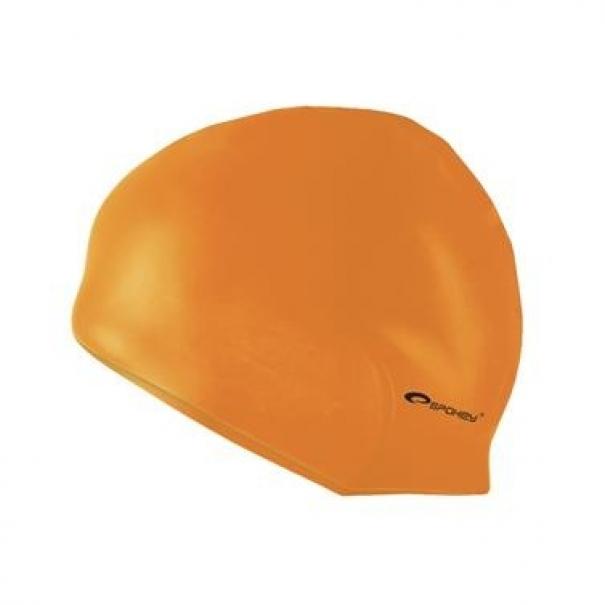 Plavecká čepice silikonová Spokey Summer - oranžová
