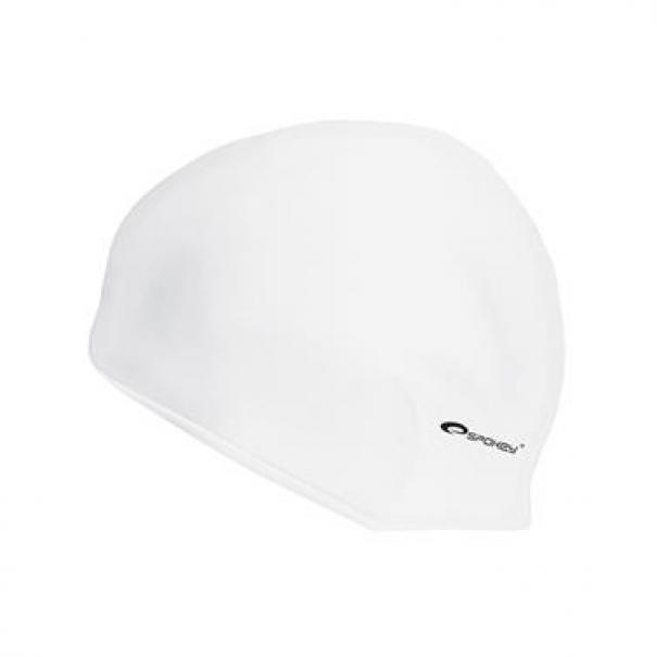Plavecká čepice silikonová Spokey Summer - bílá