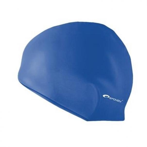 Plavecká čepice silikonová Spokey Summer - tmavě modrá