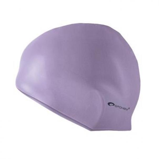 Plavecká čepice silikonová Spokey Summer - fialová