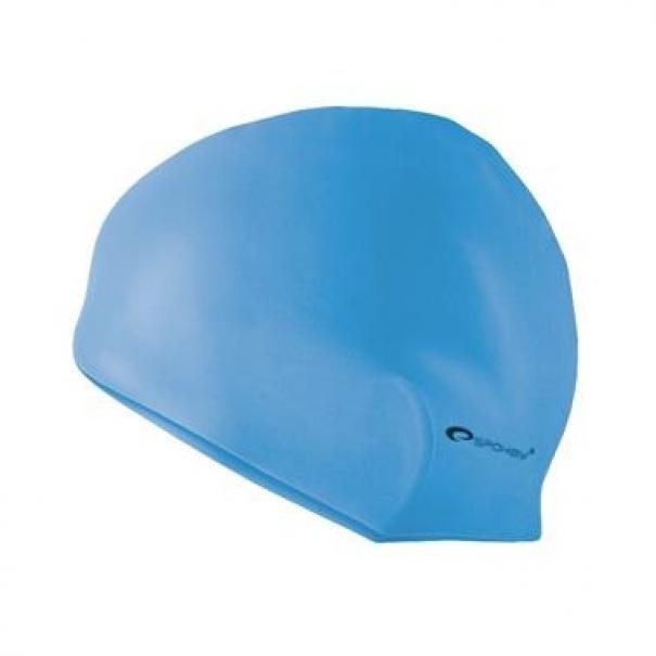 Plavecká čepice silikonová Spokey Summer - světle modrá