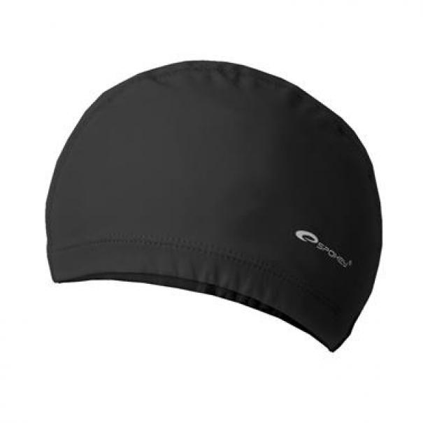 Plavecká čepice dvouvrstvá Spokey Torpedo - černá