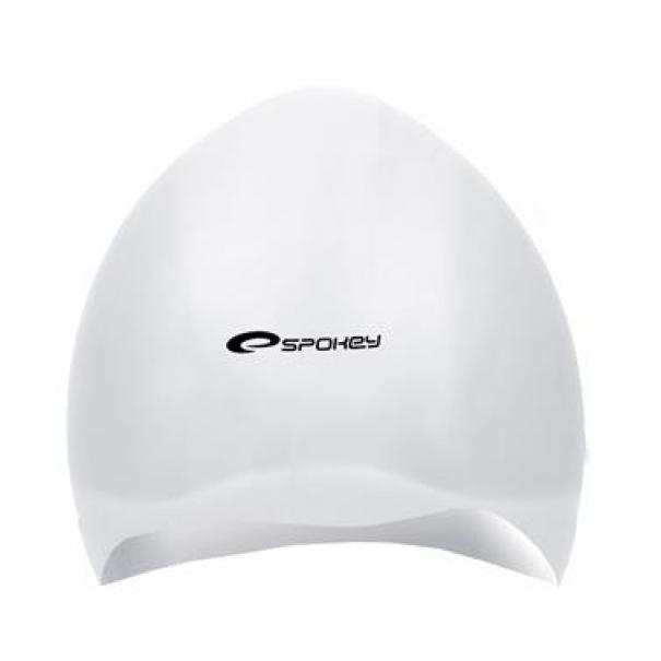 Plavecká čepice profesionální Spokey Seagull - bílá