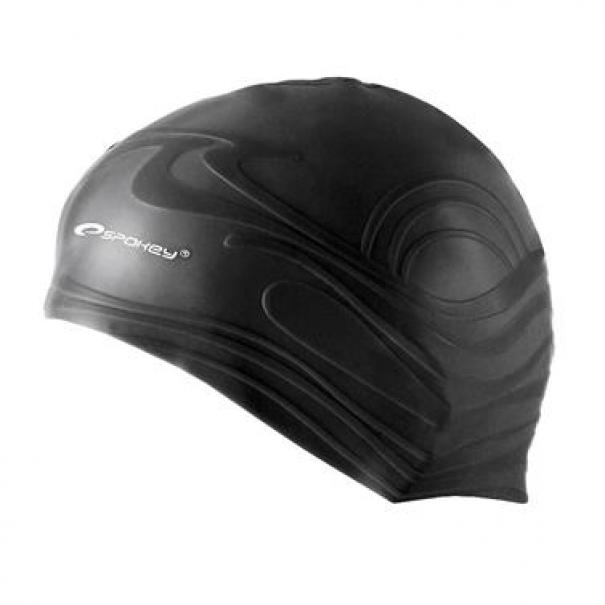 Plavecká čepice silikonová Spokey Shoal - černá