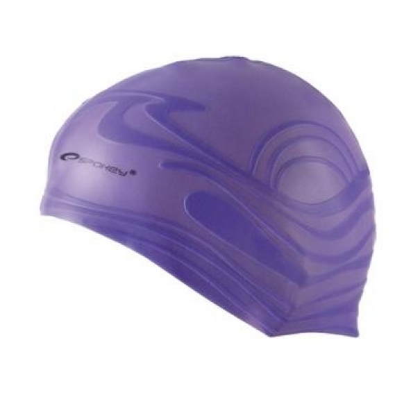 Plavecká čepice silikonová Spokey Shoal - fialová
