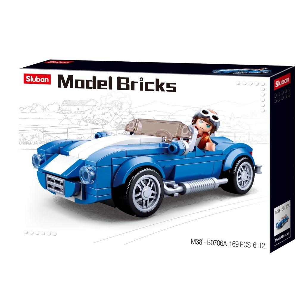 Stavebnice Sluban Model Bricks Sportovní vůz M38-B0706A