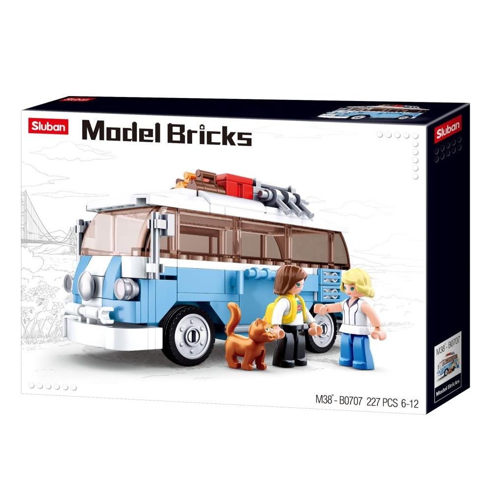 Stavebnice Sluban Model Bricks Hippie autobus M38-B0707