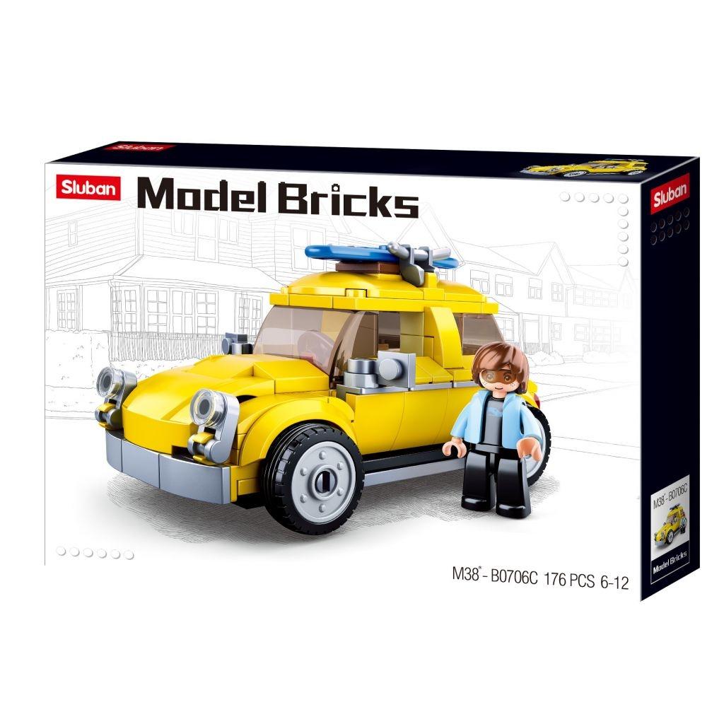 Stavebnice Sluban Model Bricks Volksauto M38-B0706C