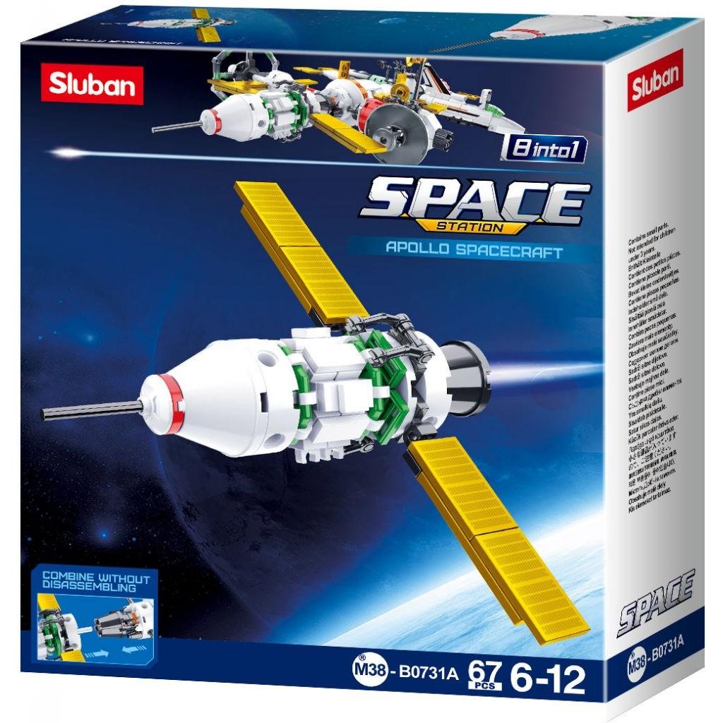 Stavebnice Sluban Space Satelit A M38-B0731A