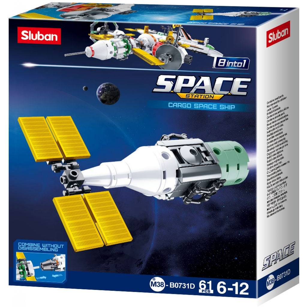 Stavebnice Sluban Space Satelit D M38-B0731D