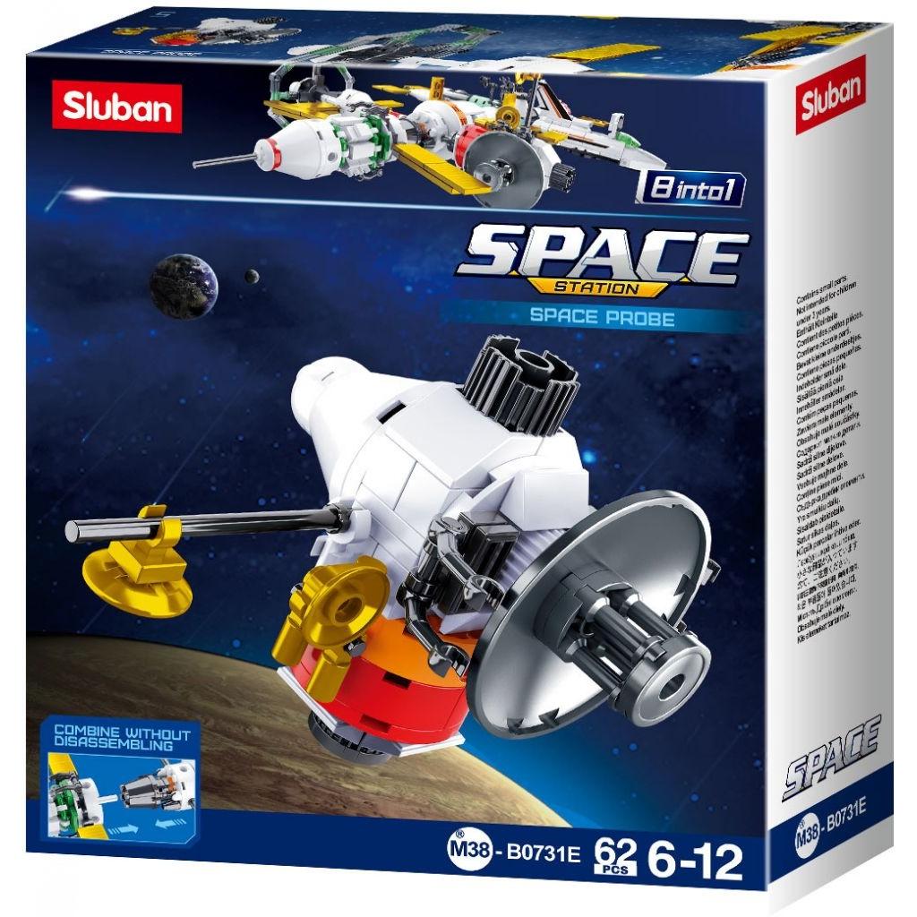 Stavebnice Sluban Space Satelit E M38-B0731E