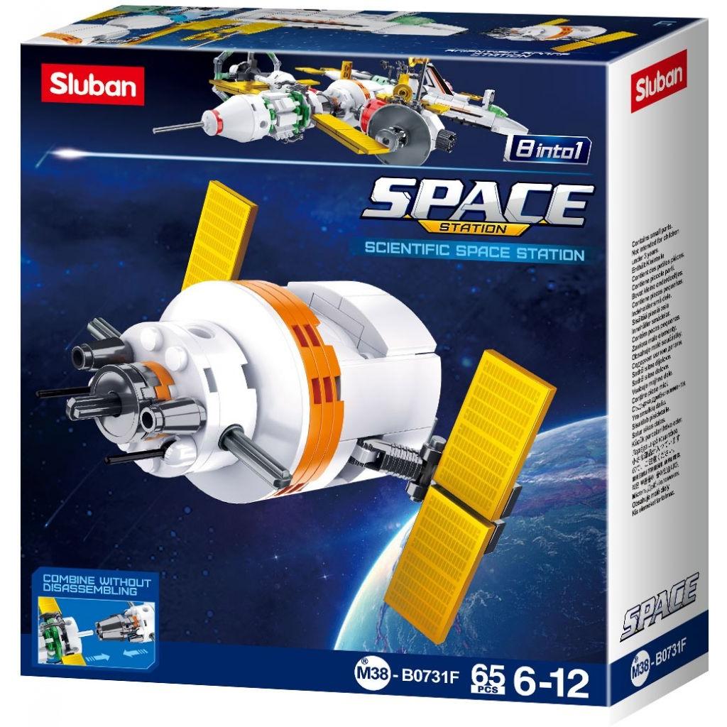 Stavebnice Sluban Space Satelit F M38-B0731F