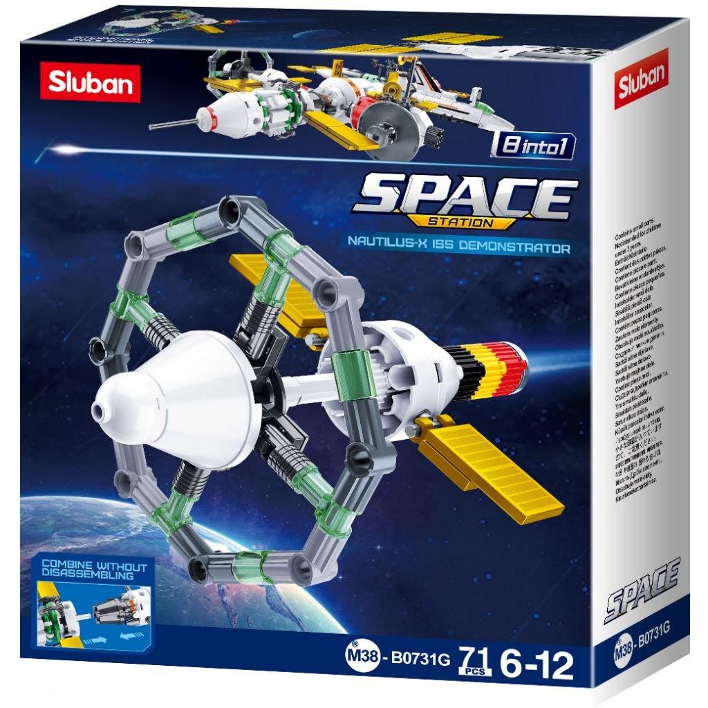 Stavebnice Sluban Space Satelit G M38-B0731G