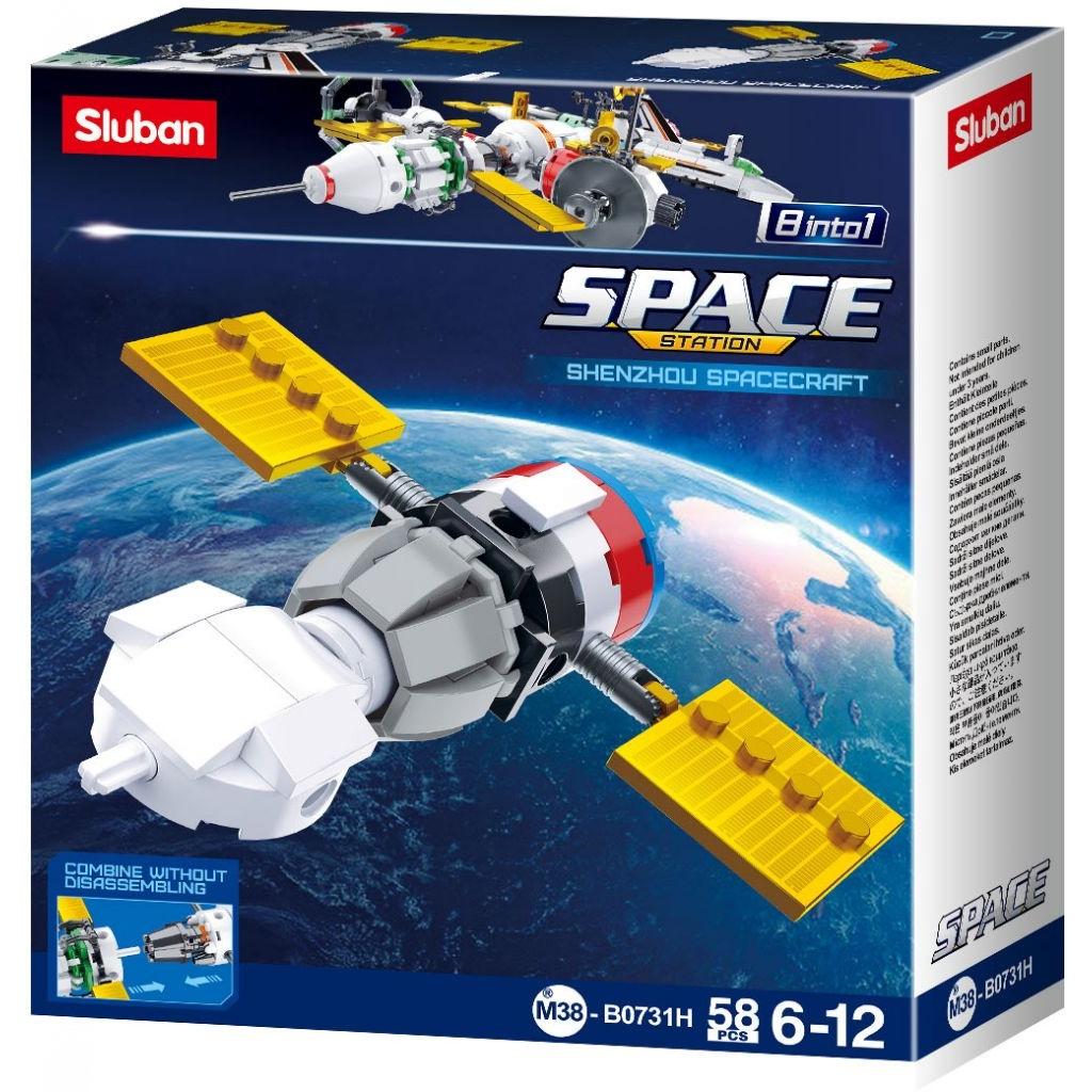 Stavebnice Sluban Space Satelit H M38-B0731H