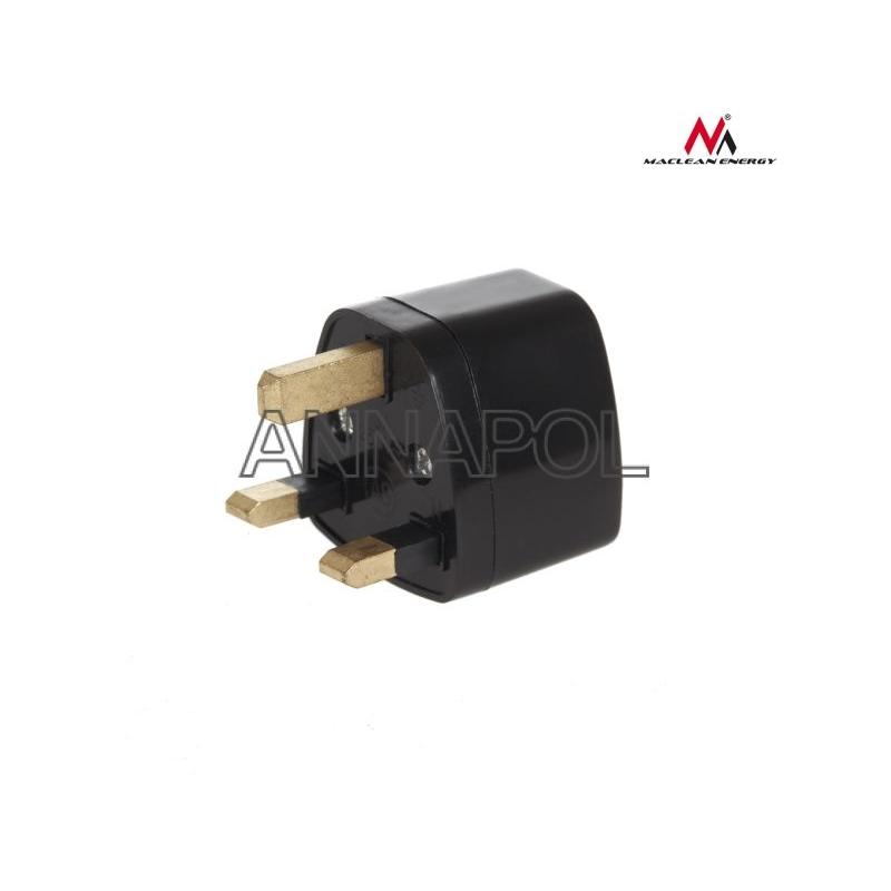 Cestovní adaptér (redukce) EU-US/UK - černý