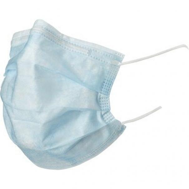 Hygienická ústní rouška (ústenka) - modrá