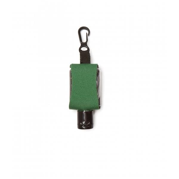Příruční dezinfekční gel s karabinkou 15 ml - zelený