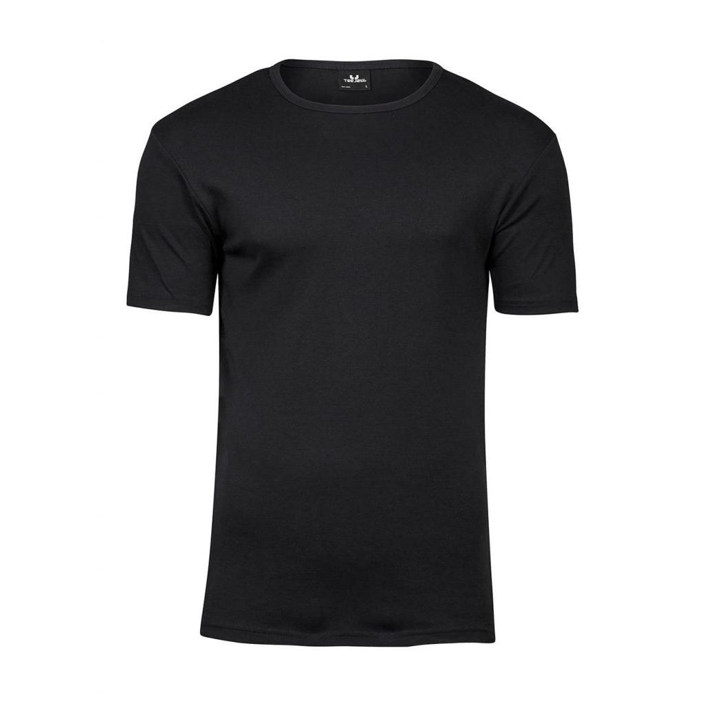 Triko pánské Tee Jays Interlock - černé