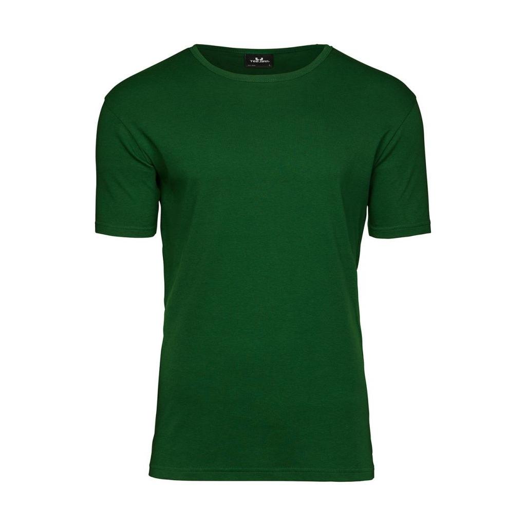 Triko pánské Tee Jays Interlock - zelené
