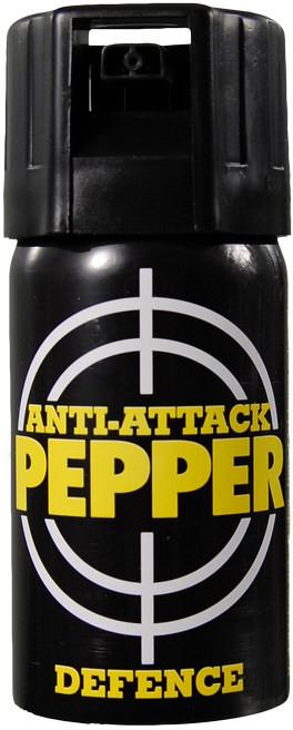 Obranný sprej pepřový Anti-Attack OC JET 40 ml (18+)