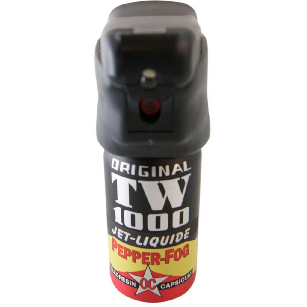 Obranný sprej TW1000 OC Jet Man 40 ml LED (18+)