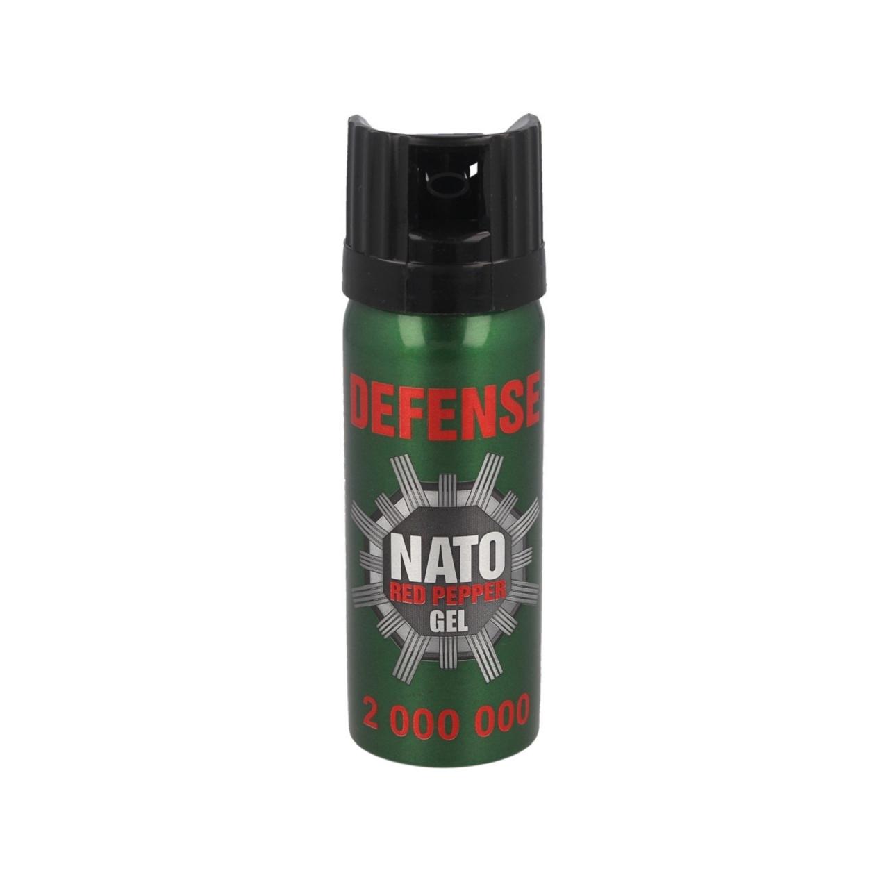 Obranný sprej Defence NATO Gel Cone 50 ml (18+)