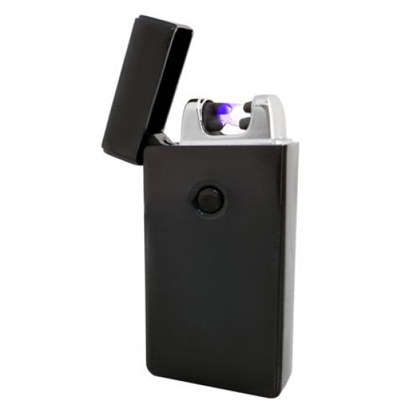 Elektrický zapalovač Plazma USB - černý