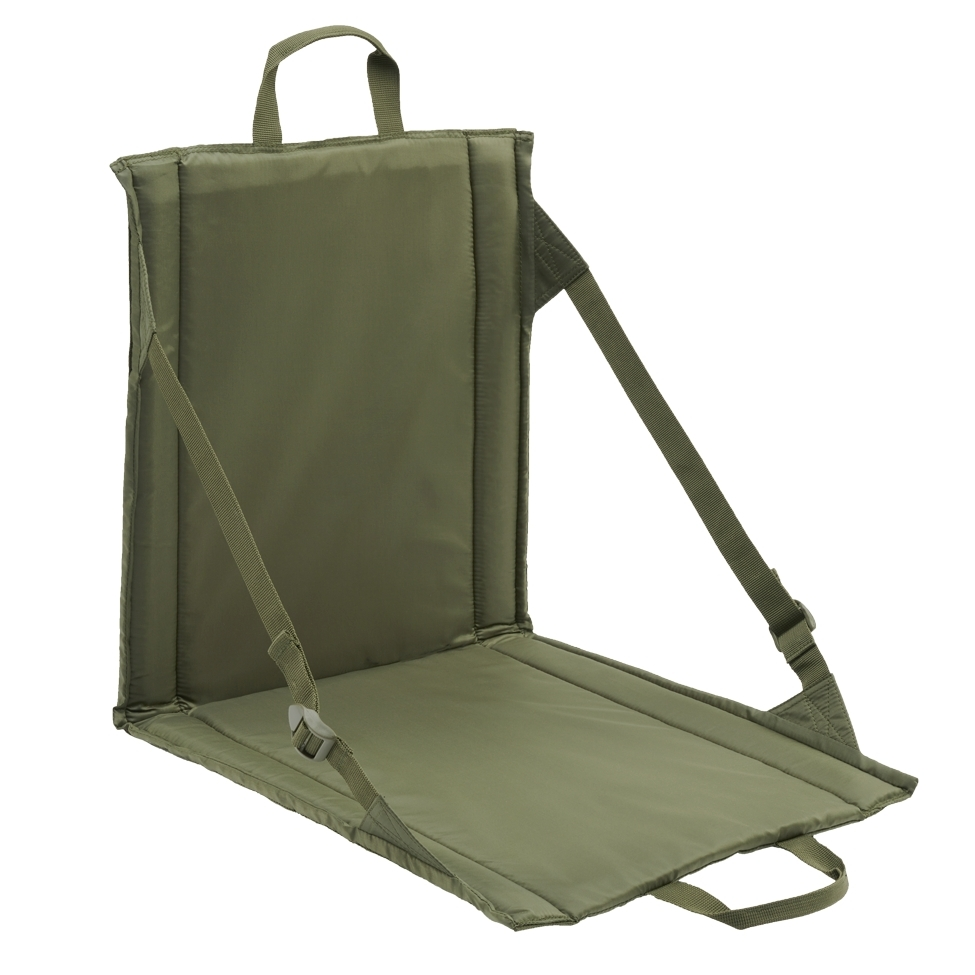 Sedací podložka skládací Brandit Foldable Seat - olivová