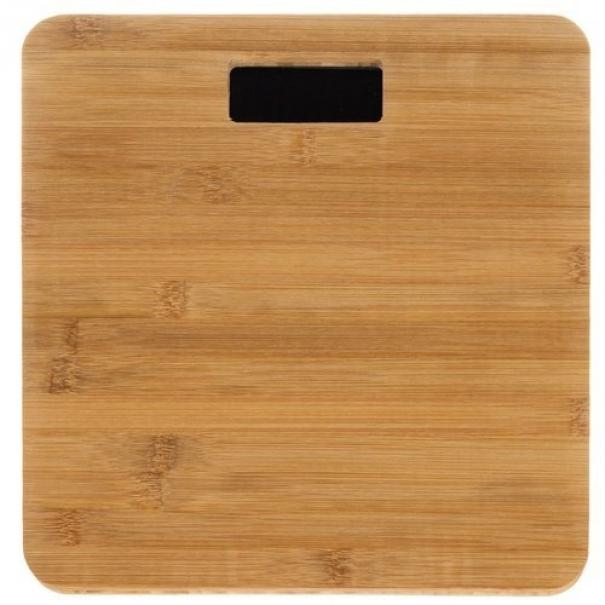 Digitální osobní váha z bambusu 180 kg