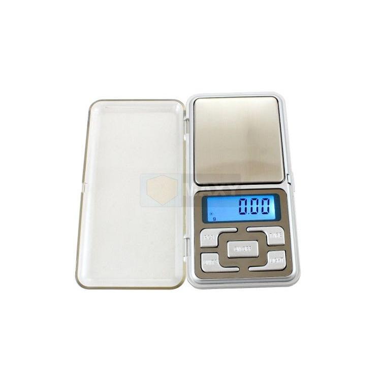 Digitální kapesní váha 200g - stříbrná