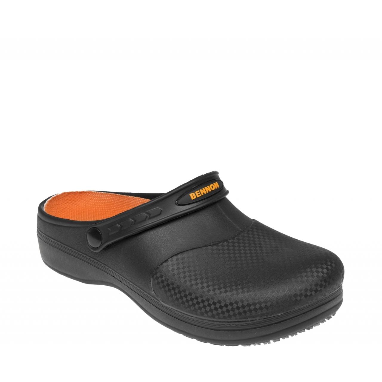 Sandále Bennon Maxim OB Slipper Easy - černé