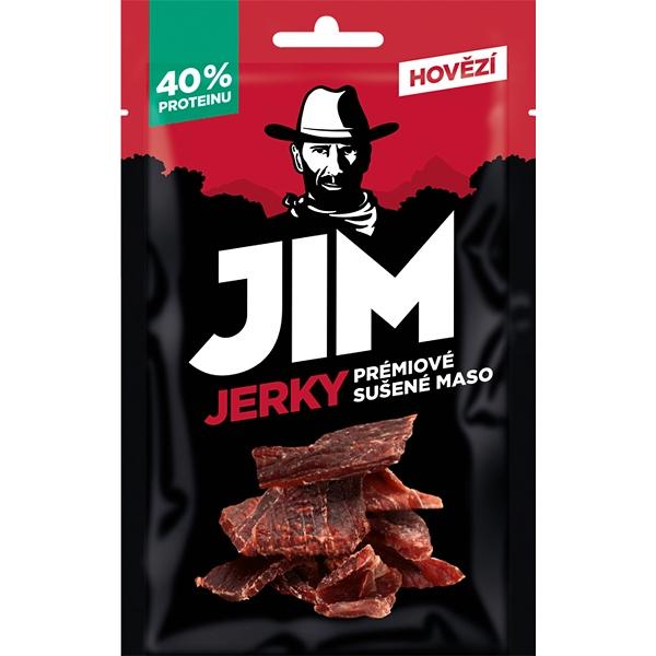 Sušené maso Jim Jerky hovězí 23g
