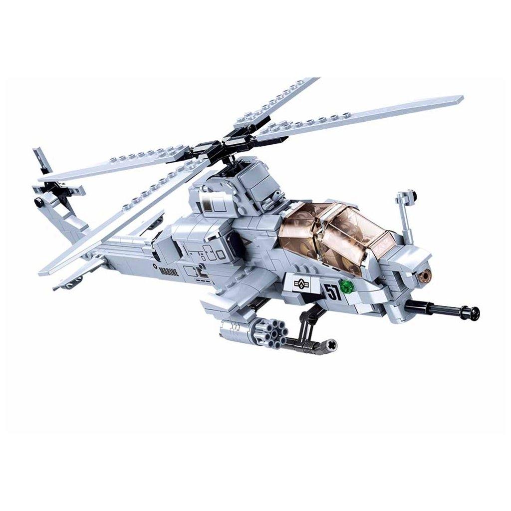 Stavebnice Sluban Army Bitevní helikoptéra M38-B0838