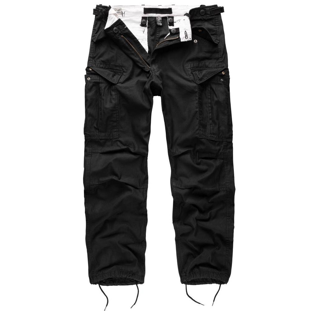Kalhoty Vintage Fatigues M65 - černé