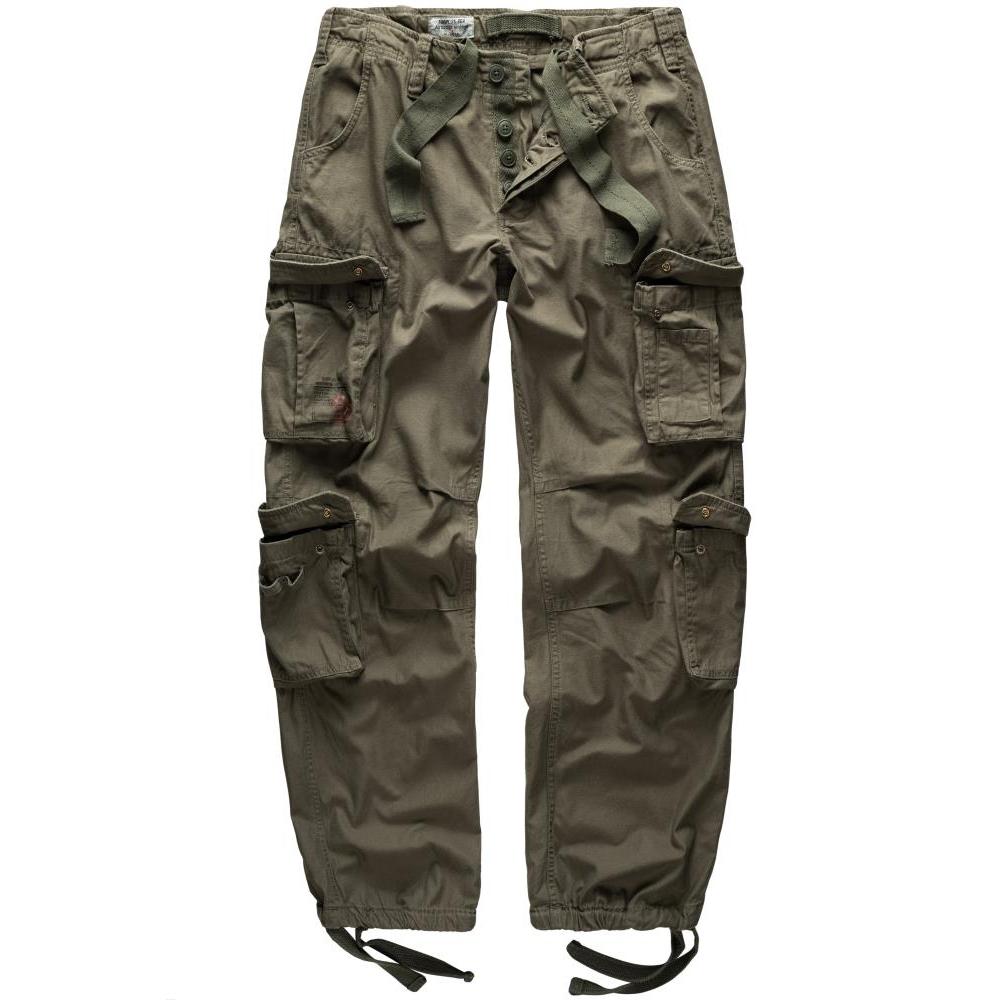 Kalhoty Airborne Vintage - olivové
