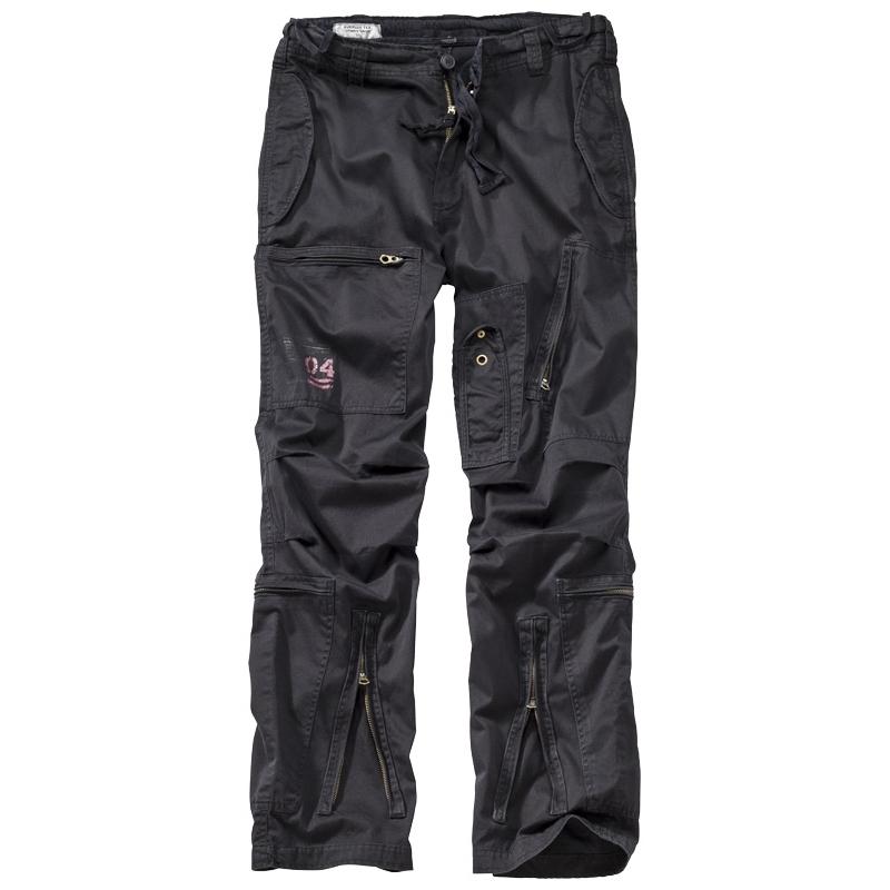 Kalhoty Infantry Cargo - černé