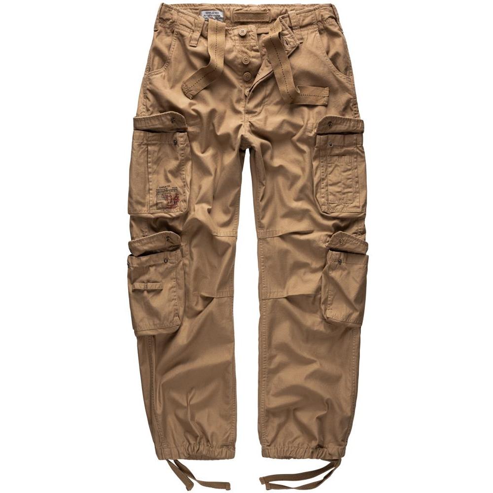 Kalhoty Airborne Vintage - béžové