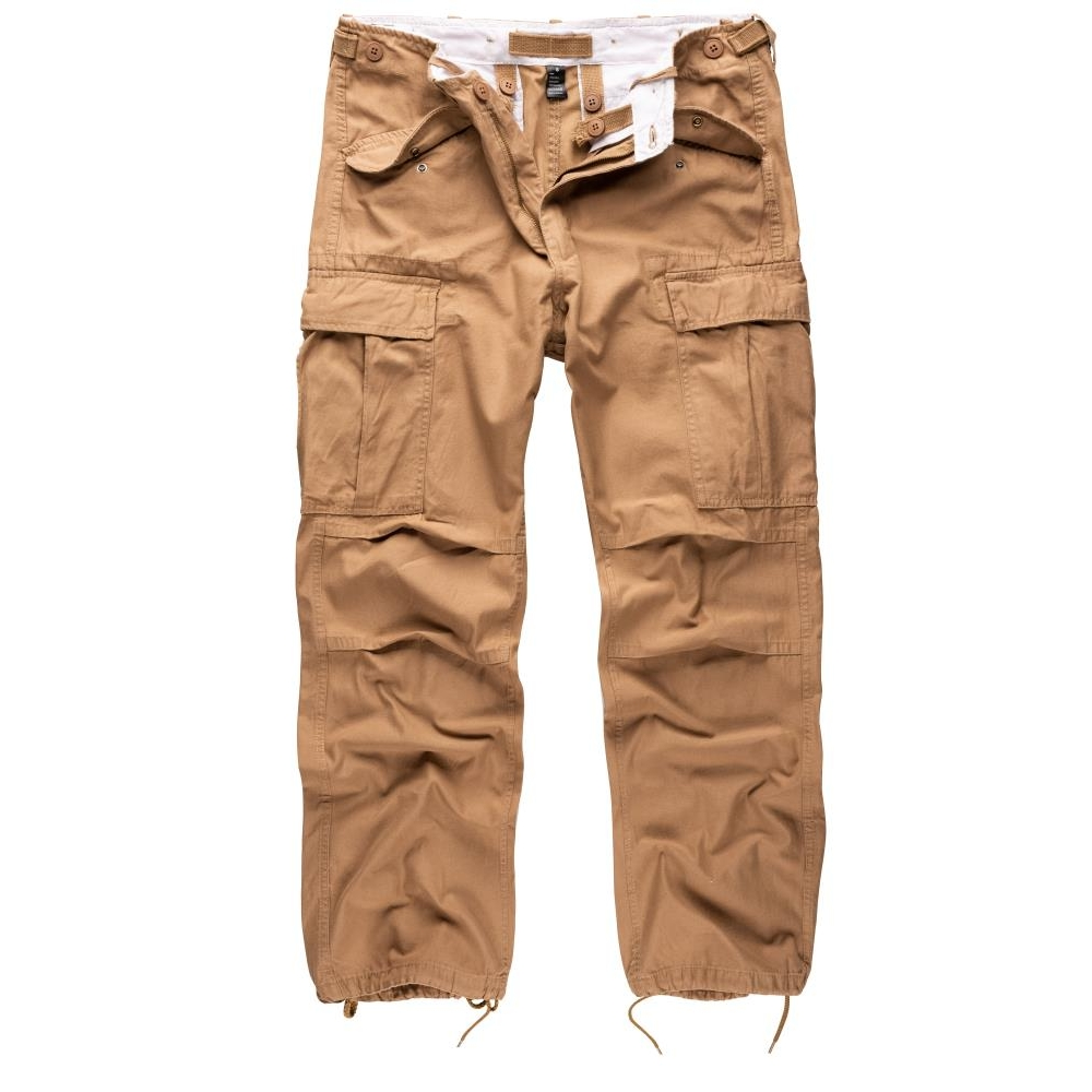 Kalhoty Vintage Fatigues M65 - béžové